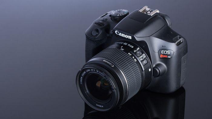 f3f9384ff8e98 PREÇO IMPERDÍVEL  Câmera Canon EOS Rebel T6
