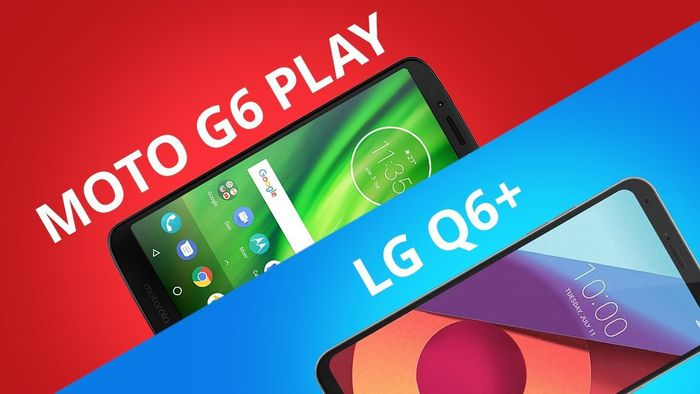 9a3bf9518 Moto G6 Play vs LG Q6+  Comparativo  - Vídeos - Canaltech