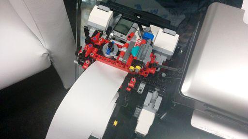 Campus Party 2015: garoto de 13 anos cria impressora braile feita em LEGO