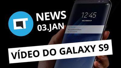 Vídeo mostra Galaxy S9 em funcionamento; Brecha no Tinder expõe fotos [CT News]