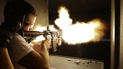 Jogos de tiro usando balas de verdade são a última moda da realidade virtual