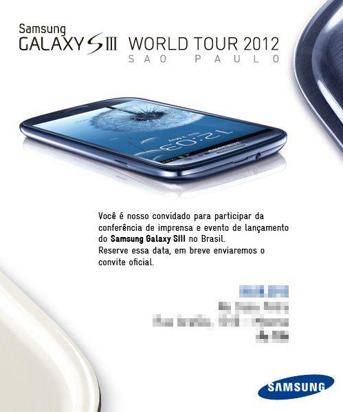 Lançamento do Galaxy S III