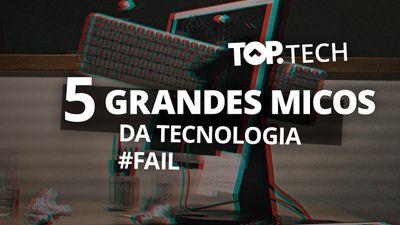 5 tecnologias que fracassaram [Top Tech]