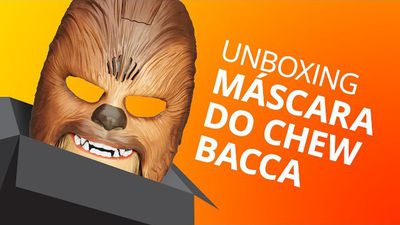 A máscara do Chewbacca [Unboxing]