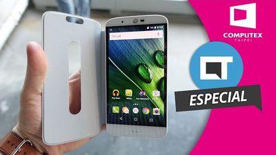 Acer Liquid Zest Plus, o smartphone com bateria de 5.000 mAh [Hands-on | Computex 2016]