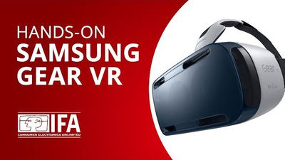 Experimentamos o Gear VR, os óculos de realidade virtual da Samsung [Hands-on | IFA 2014]