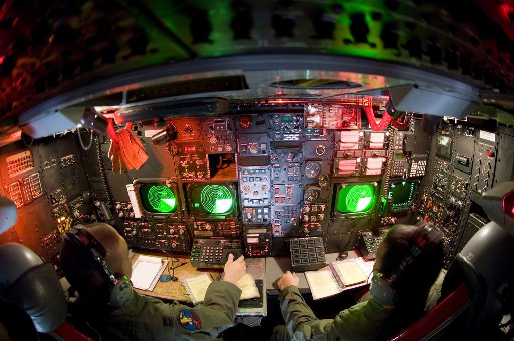 B-52 operador de radar