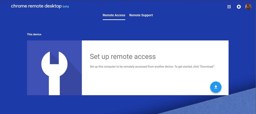 Além de funcionar em desktops, o Chrome Remote Desktop também conta com suporte a dispositivos Android