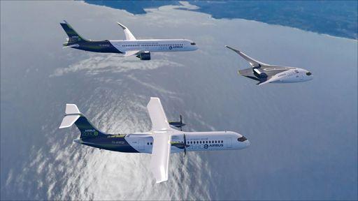 Aviões movidos a hidrogênio serão realidade em breve graças à Airbus