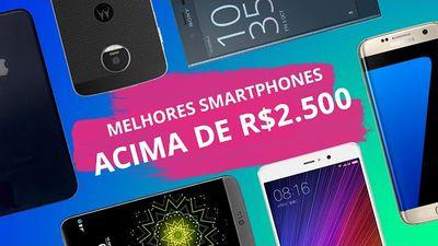 Melhores smartphones de 2016 acima de R$ 2500