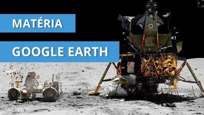 Visite a Lua, vá até Marte ou estude as constelações com a ajuda do Google Earth!