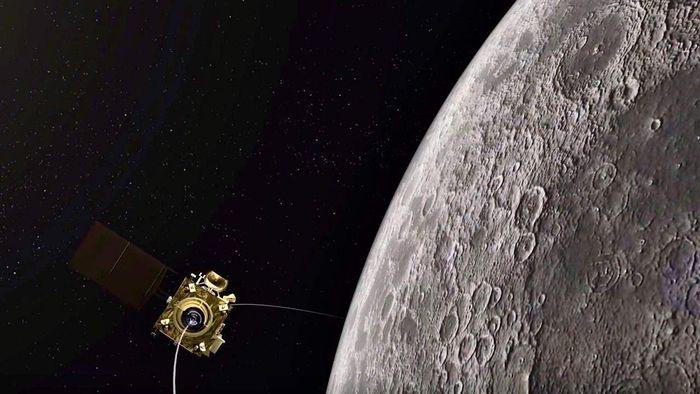 Sonda lunar da NASA investigará o que aconteceu com lander da Chandrayaan-2