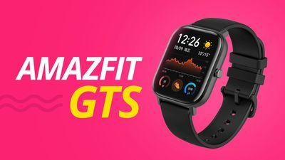 Amazfit GTS, uma das MELHORES telas de relógio [Análise/Review]