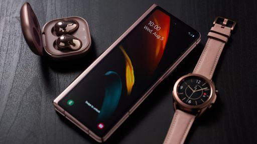 Samsung deve anunciar Galaxy Z Fold 3, Z Flip 3 e relógios no início de agosto