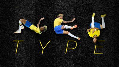 Conheça a Neymar Type, uma fonte só com imagens das quedas do Neymar