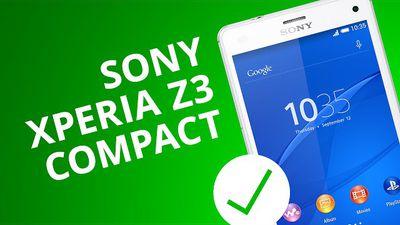 SONY XPERIA Z3 COMPACT: 5 motivos para você COMPRAR [5 Motivos]