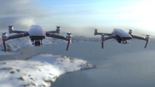 DJI Pro 3 tem possível visual revelado com duas câmeras Hasselblad