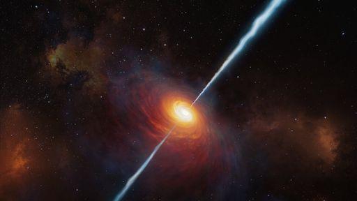 Descoberto o quasar com emissão de rádio mais distante e antigo já detectado