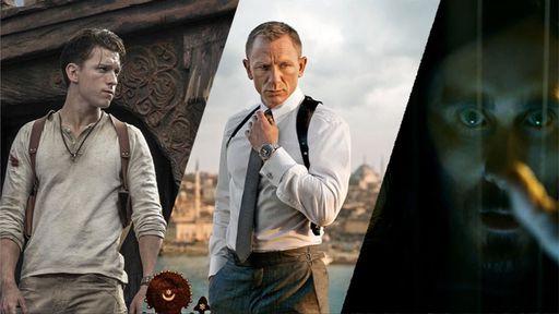 Uncharted, novo 007, Mobius e outros filmes são adiados; veja o que muda
