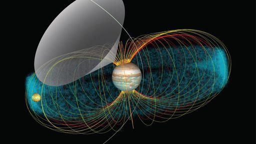 "Sonda Juno ""ouve"" sinais de rádio provocados por Io, a lua vulcânica de Júpiter"