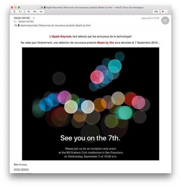 convite evento Apple
