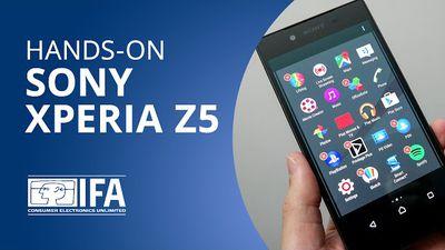 Xperia Z5: já colocamos as mãos no novo aparelho da Sony [Hands-on   IFA 2015]