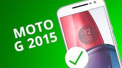 MOTO G 2015: 5 motivos para COMPRAR [5 Motivos]