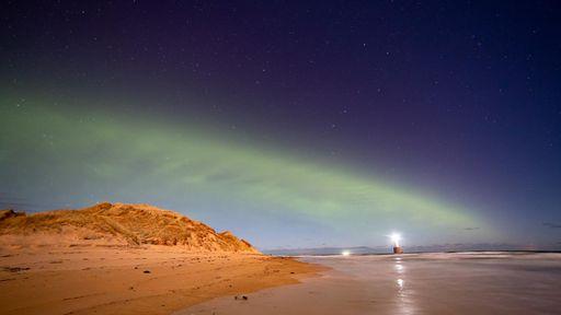 """Esta pode ser a explicação para o raro fenômeno de aurora com formato de """"dunas"""""""