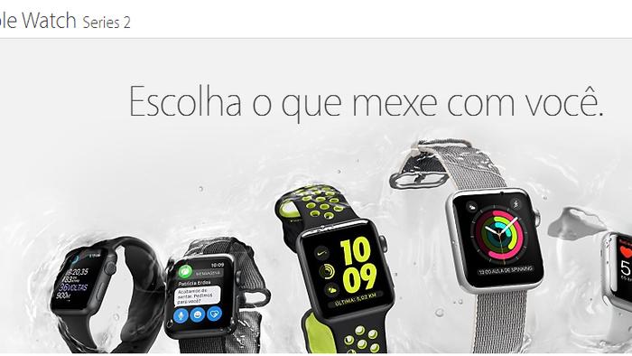 55f95f6821a Apple Watch Series 2 começa a ser vendido no Brasil - Smartwatch