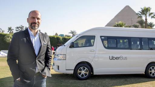 Uber começa a oferecer serviço de ônibus no Egito