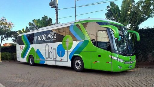 Paraná agora tem ônibus elétrico para 44 passageiros em trecho regional