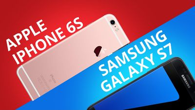 iPhone 6S VS Galaxy S7 [Comparativo]
