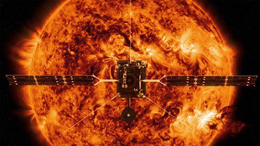 Campo magnético global da coroa solar é medido pela primeira vez
