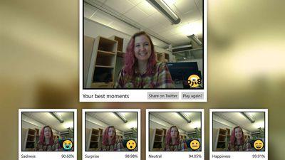 Ferramenta da Microsoft julga o quão bem você imita a expressão de um emoji