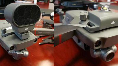 Vazam fotos do novo drone dobrável da DJI