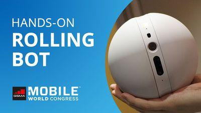 LG Rolling Bot: um BB-8 para segurança e monitoramento de pets [Hands-on | MWC 2