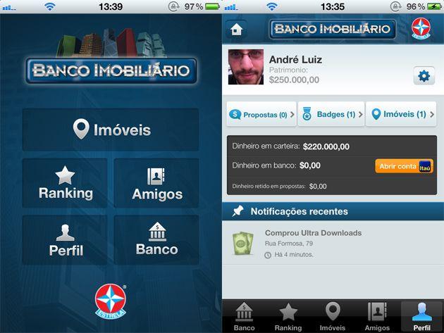 Banco Imobiliário no iOS (Imagem: Reproduçã/Ultra Downloadso)