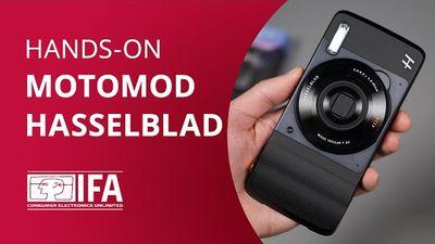 Moto Snap Hasselblad True Zoom, o snap de fotografias da linha Moto [Hands-on IFA 2016]