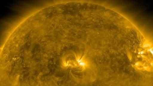 """Ondas lentas descobertas no Sol tocam as """"notas"""" mais graves já registradas"""