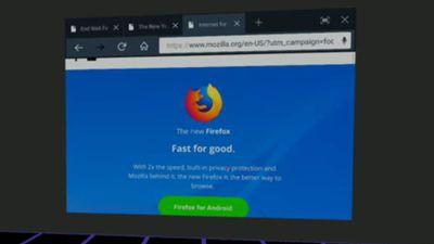 Firefox lança navegador com foco em VR e AR para desenvolvedores