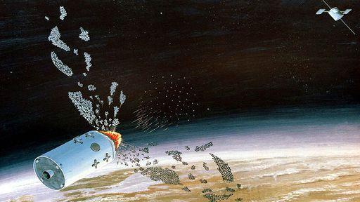 Dezenas de detritos do satélite destruído pela Índia permanecem em órbita