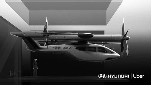 Táxis aéreos mais pertos: Hyundai e Uber esperam lançar carros voadores até 2028