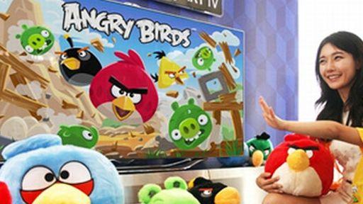 O que achamos de jogar Angry Birds em uma SMART TV