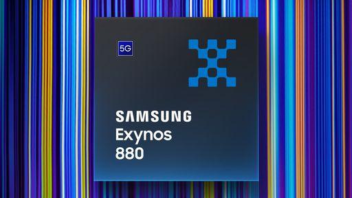 Samsung lança chip Exynos 880 com 5G para celulares intermediários