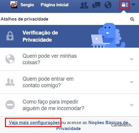 Atente para suas configurações de privacidade no Facebook para não deixar suas informações dando sopa