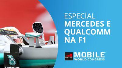 Fórmula 1: Hamilton, Mercedes e Qualcomm buscando a excelência nas pistas [MWC 2
