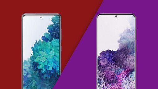Galaxy S20 FE vs Galaxy S20: quais as diferenças entre os celulares da Samsung?