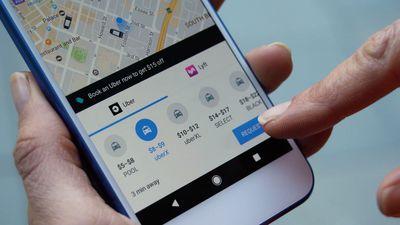 Não dá mais para reservar uma viagem de Uber usando o Google Maps