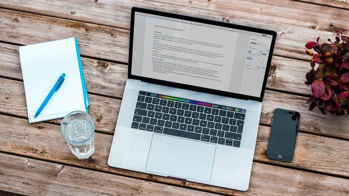 Como alterar o tamanho da barra de menus do Mac