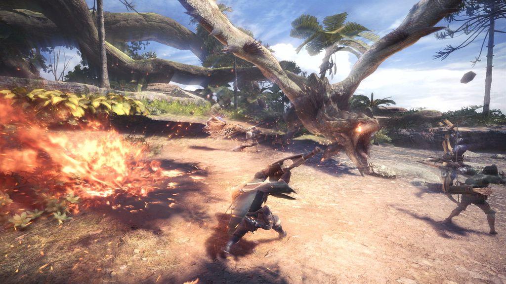 As caçadas podem ser feitas sozinho ou em grupos de até quatro jogadores online